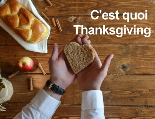 Fêter Thanksgiving aux USA