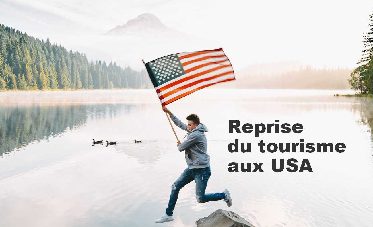 reprise tourisme usa