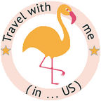 Travel with me in US Logo